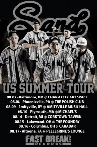 "SAND""US SUMMER TOUR"""