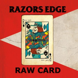 RAZORS EDGE 6th Album 「RAW CARD」特設サイトにてKRASH(Dr)、MISSILE(B)、TAKA(G)のインタビュー(前半)が公開!