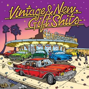 Hi-STANDARD カバーシングル「Vintage & New,Gift Shits」ジャケット写真公開!