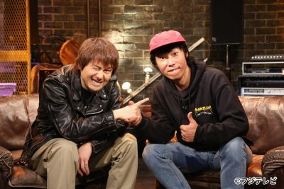 スプリットCD『Ken Yokoyama VS NAMBA69』明日6/6発売!横山健と難波章浩がフジテレビ系『Love music』にて地上波初対談オンエア決定!
