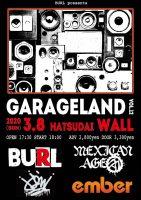 BURL、自主企画『GARAGELAND vol.12』開催決定!